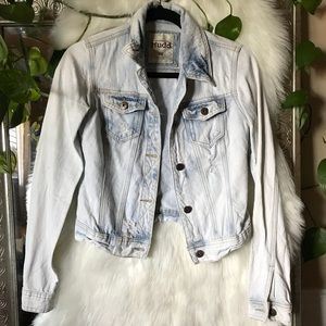 XS denim jacket